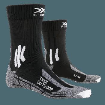 Trek Outdoor Socks Black-Grey Melange