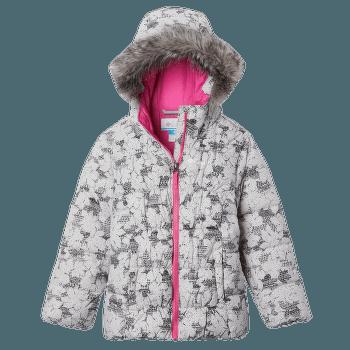 Gyroslope™ Jacket Girls Silver Grey Leaves 082