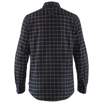 Övik Flannel Shirt Men Dark Navy