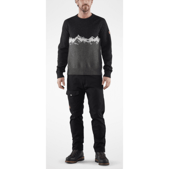 Greenland Re-Wool View Sweater Men Dark Grey 030