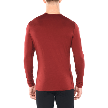 Oasis LS Crewe Snap Head Men Cabernet