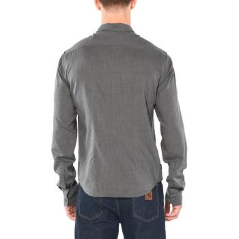 Stevenson LS Flannel Shirt Men Gritstone HTHR