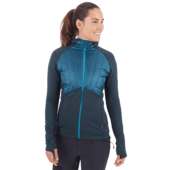 Aconcagua Light Hybrid ML Hooded Jacket Women dark ceramic-ceramic