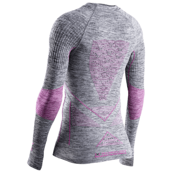 Energy Accumulator 4.0 Melange Shirt Round Neck Women GREY MELANGE/PINK