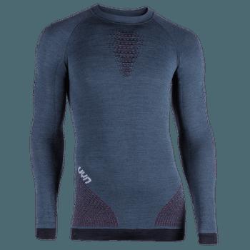 Fusyon UW Shirt LS Men Orion Blue/Bordeaux/Pearl Grey