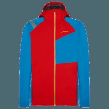 Run Jacket Men Poppy/Neptune