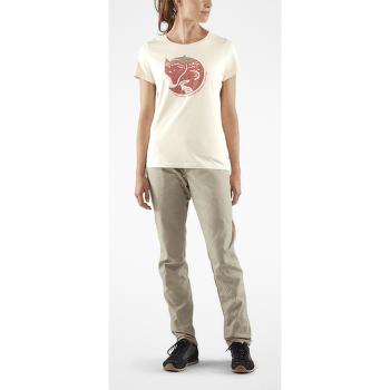 Arctic Fox Print T-Shirt Women Chalk White