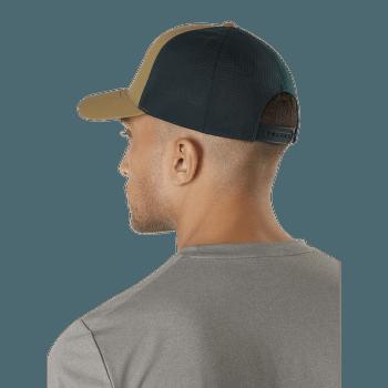 Logo Trucker Hat (23965) Cobalt Sun