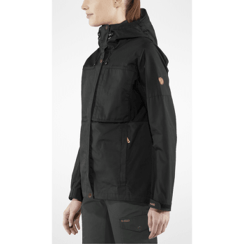 Kaipak Jacket Women Dark Garnet-Dark Grey