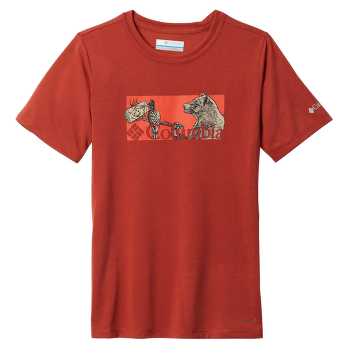 Ranco Lake™ Short Sleeve Tee Boys Orange 835