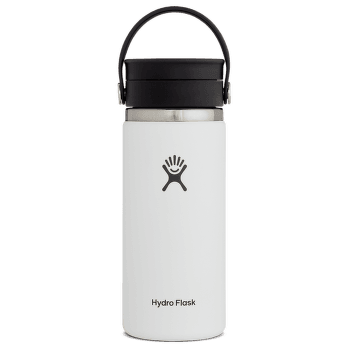 Wide Mouth with Flex Sip Lid 16 oz 110 White