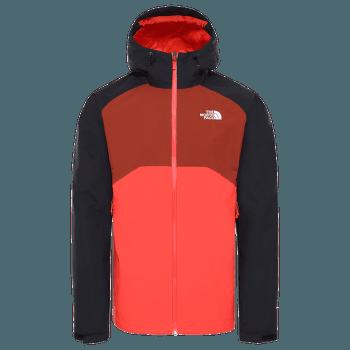 Stratos Jacket Men (CMH9) FLARE/TNF BLCK/BRANDY BRN