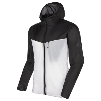 Convey WB Hooded Jacket Men black-bright white