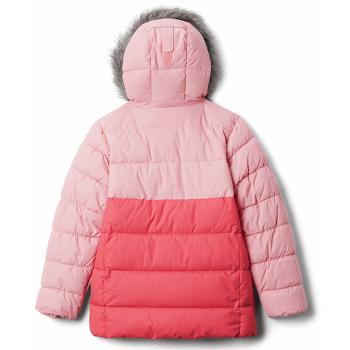ARCTIC BLAST™ Jacket Girls Bright Geranium, Pink Orchid 673