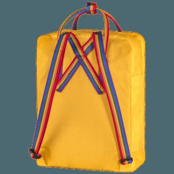 Kanken Rainbow Warm Yellow-Rainbow Pattern