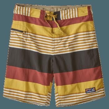 Wavefarer Boardshorts - 19 in Men Fitz Stripe: Surfboard Yellow
