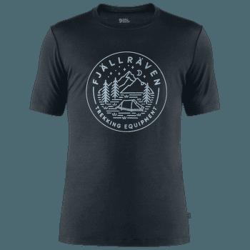 Abisko Wool Tältplats SS Men Dark Navy