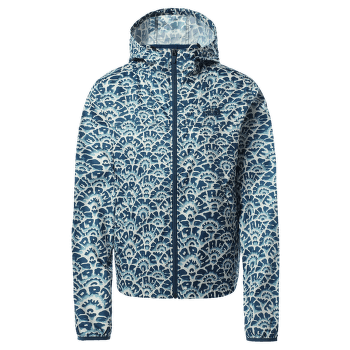 Cyclone Jacket Women Monterey Blue Ashbury Floral Print