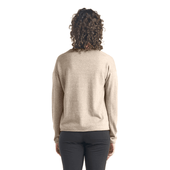 Flaxen LS V Sweater Women BRITISH TAN HTHR