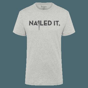 Nailed It SS Tee Men Nickel-Dune Heather