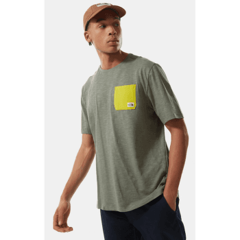 Campen Tee S/S Men Agave Green