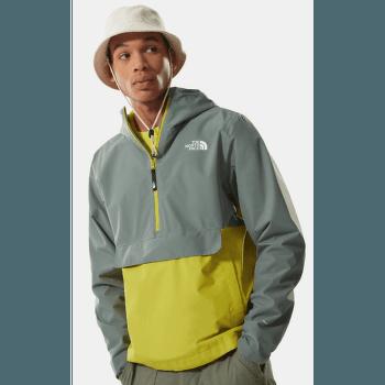 Waterproof Fanorak Men Agave Green-Citronelle Green