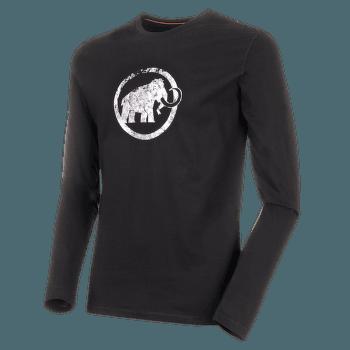 Mammut Logo Longsleeve Men (1016-00530) black 0001