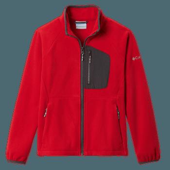 Fast Trek™ III Fleece Full Zip Kids Mountain Red, S 613