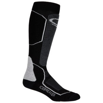 Ski+ Mid OTC Women (IBN721) Black/Oil/Silver