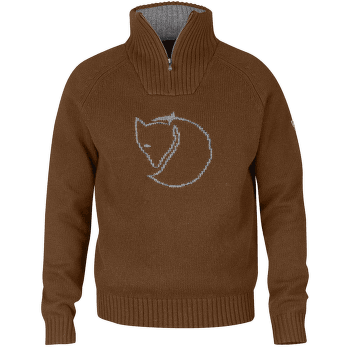 Red Fox Sweater Men Chestnut