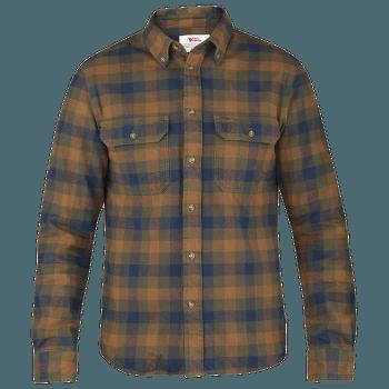 Skog Shirt Men Chestnut