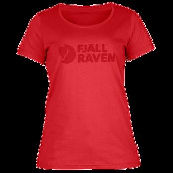 Logo T-Shirt Women (89572) Neon Red