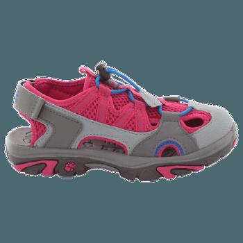 Lakewood Cross Sandal Kids azalea red 2081