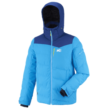 Sun Peaks Hybrid Jacket Men ELECTRIC BLUE/HEATHER EST