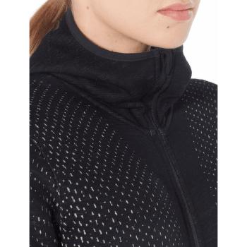 Elemental LS Zip Hood Crystal Women Black001