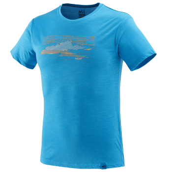 Sevan Wool T-Shirt SS Men ELECTRIC BLUE