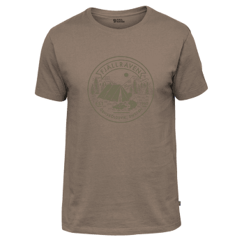 Lägerplats T-Shirt Men Dark Sand