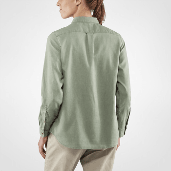 Övik Travel Shirt LS Women Sage Green