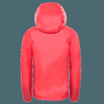 Zipline Rain Jacket Girls ATOMIC PINK