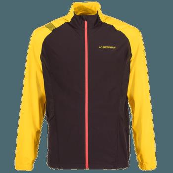 Levante Jacket Men Black/Yellow