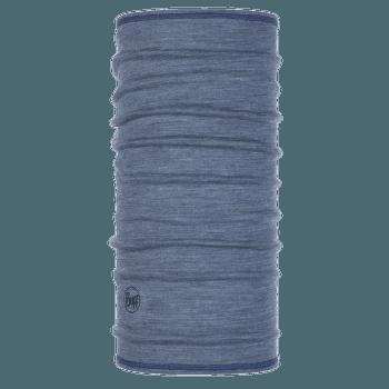 Lightweight 3/4 Merino Wool LIGGHT DENIM MULTI STRIPES