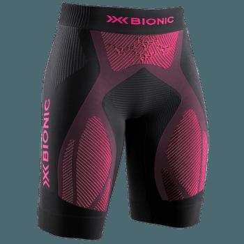 The Trick G2 Run Shorts Women Opal Black/Neon Flamingo