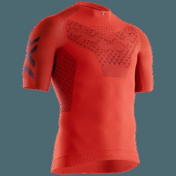 Twyce G2 Run Shirt SH SL Men Sunset Orange-Blue