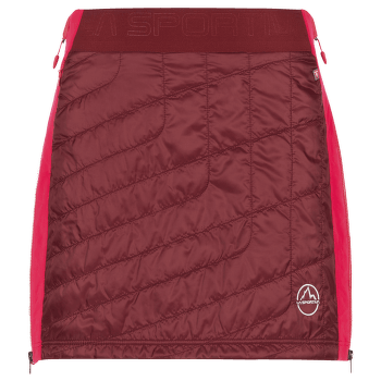 Warm Up Primaloft Skirt Women Wine/Orchid