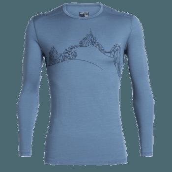 Oasis LS Crewe Aiguille du Midi Men Thunder