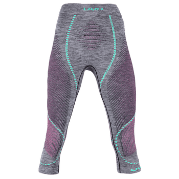 Ambityon UW Pants Medium Melange Women Black Melange/Pink/Aqua