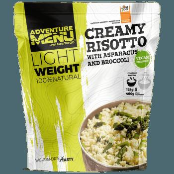 Lightweight Krémové rizoto s chřestem a brokolicí