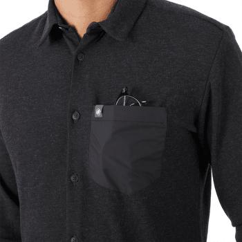 Yadkin Longsleeve Shirt Men black 0001