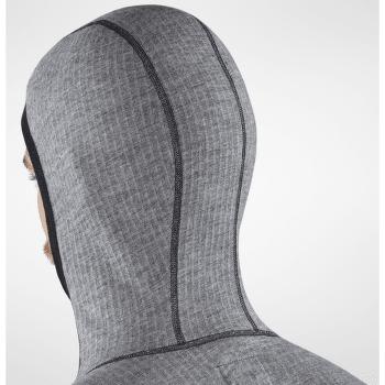 Bergtagen Woolterry Hoodie Men Grey 020