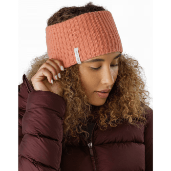 Chunky Knit Headband Labyrinth Heather